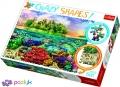 600 эл. Crazy Shapes - Тропический остров / 500px / Trefl