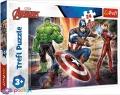 24 эл. Макси - В мире Мстителей / Disney Marvel The Avengers / Trefl
