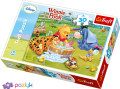30 эл. – Винни Пух. Купание Пятачка /Disney Winnie the Pooh / Trefl