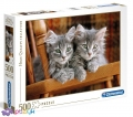 500 ел. High Quality Collection - Сірі кошенята / Clementoni
