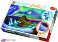 600 эл. Crazy Shapes - Полярное сияние над Исландией / 500px / Trefl