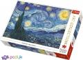 1000 ел. Art Collection - Вінсент ван Гог. Зоряна ніч / Bridgeman / Trefl