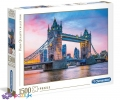 1500 эл. High Quality Collection - Мост Тауэр Бридж в сумерках / Clementoni