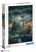 1500 ел. High Quality Collection - Піратський корабель / Clementoni