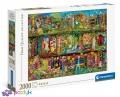 2000 эл. High Quality Collection - Эйми Стюарт. Сказочный книжный шкаф / Getty Images_L / Clementoni