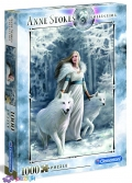1000 ел. Anne Stokes collection - Зимові захисники / Clementoni