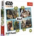 4 в 1 (35,48,54,70) эл. - Звездные войны: Мандалорец и его мир / Lucasfilm Star Wars / Trefl