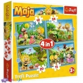 4 в 1 (12,15,20,24) ел. - Пригоди Бджілки Майї / Studio 100 Maya the Bee / Trefl