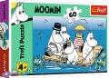 60 ел. - Мумі-тролі на озері / R&B Licensing AB Moomins / Trefl