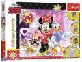 100 эл. Glitter - Мышка Минни / Disney Minnie / Trefl