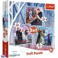 3 в 1 (20,36,50) ел. - Крижане серце-2. Магічна історія / Disney Frozen 2 / Trefl